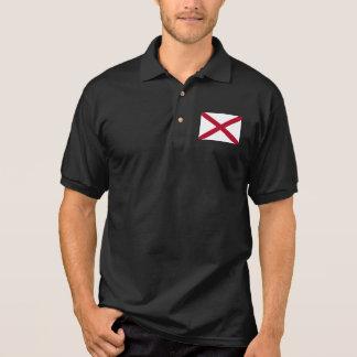 Alabama statlig flagga tenniströja