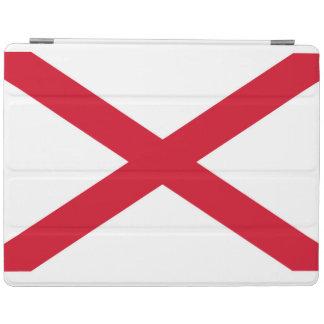 Alabama statlig flaggadesign iPad skydd