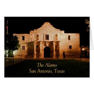 Alamoen San Antonio, Texas Hälsningskort