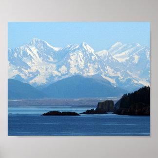 Alaska berg 552 poster