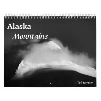 Alaska berg kalender