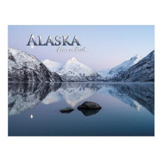 Alaska fred på jord vykort