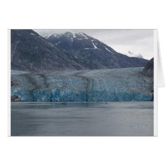 Alaska glaciär hälsningskort