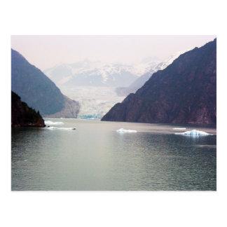 Alaska glaciär vykort