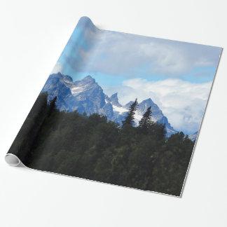 Alaska spänner slående in papper 77 presentpapper