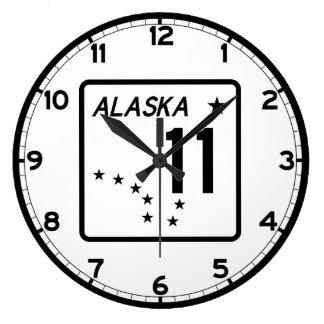 Alaska statlig rutt 11 stor klocka