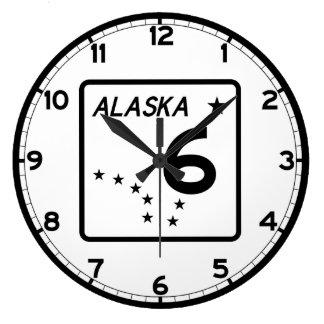 Alaska statlig rutt 6 stor klocka