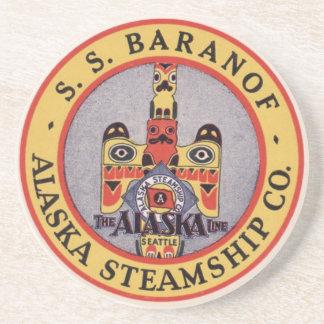 Alaska Steamshipkustfartyg Underlägg Sandsten
