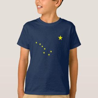 Alaska T-tröja för flaggaungar Tee Shirt