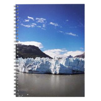 Alaskabo glaciär anteckningsbok