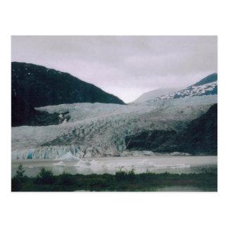 Alaskabo glaciär vykort