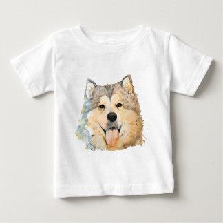 Alaskabo Malamuteporträtt T Shirts