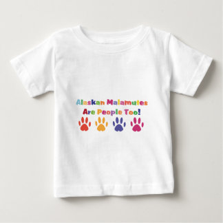 Alaskabo Malamutes är folk för Tee Shirt