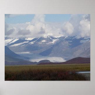 Alaskabo vildmarkaffischtryck poster