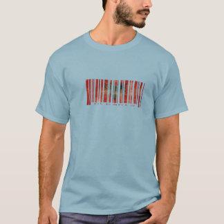 Albanien Barcode T-shirt