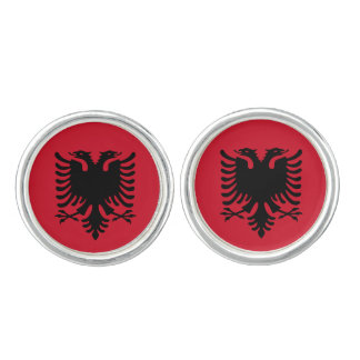 Albanien flagga cufflinks