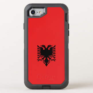 Albanien flagga OtterBox defender iPhone 7 skal