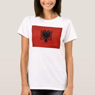 Albanien flagga t shirt