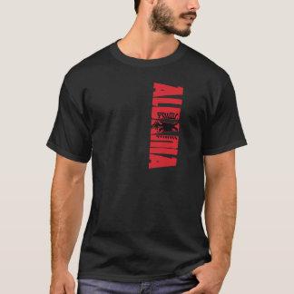 Albanien flagga t-shirts