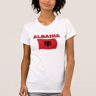 Albanien flagga tee shirt