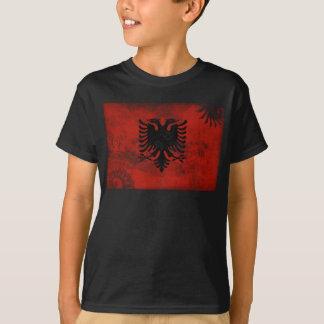 Albanien flagga tröja