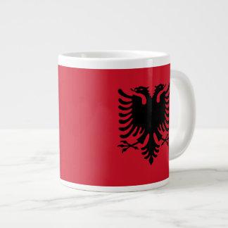 Albanien flaggamugg jumbo mugg