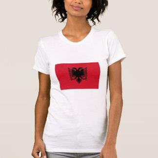 Albanien medborgareflagga tshirts