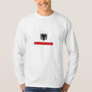 Albanien sjö- Ensign Tee Shirts