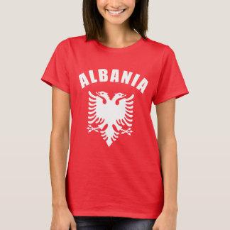 Albanien vapensköld tee