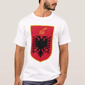 Albanien vapensköldskjortor t-shirts