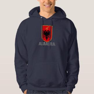 Albansk Emblem Tröja Med Luva