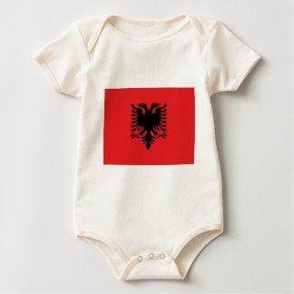 Albansk flagga krypdräkt