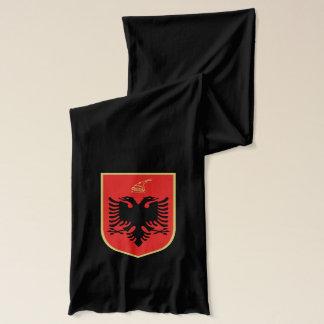 Albansk vapensköld halsduk