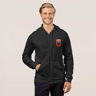 Albansk vapensköld sweatshirt med luva