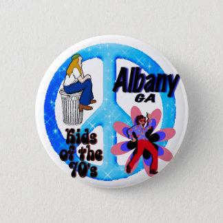 Albany ungar av 70-tal knäppas standard knapp rund 5.7 cm