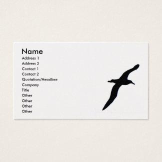 Albatrossvisitkort
