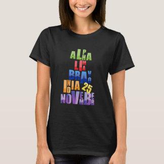 Albin 25 Phonetic alfabet Tee Shirts