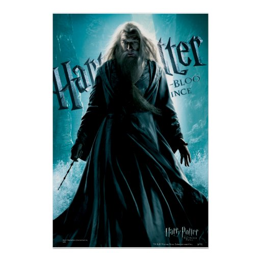 Albus Dumbledore HPE6 1 Affischer