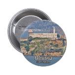 Alcatraz ö standard knapp rund 5.7 cm