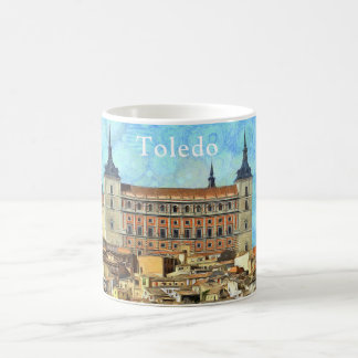 Alcazarslott i Toledo Kaffemugg