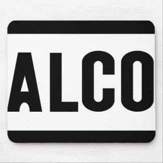 Alco - Amerikan Lokomotiv Företag Mousepad Musmatta