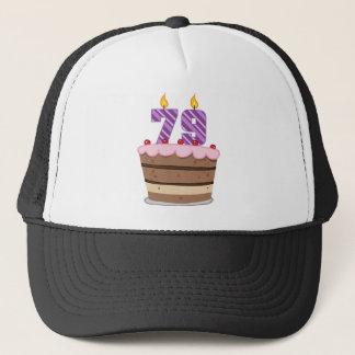 Ålder 79 på födelsedagtårtan keps