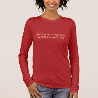 Åldern är mycket en högt pris som betalar för t shirts