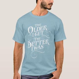Äldre förbättra t-shirts