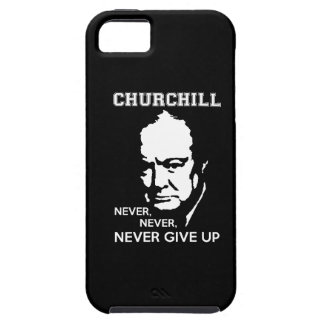 ALDRIG ALDRIG UPP DET WINSTON CHURCHILL iPhone 5 COVER
