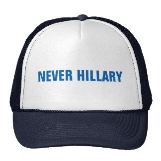 ALDRIG HILLARY för presidenten 2016 Keps