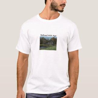 Åldrig ladugård som raffineras med ålder tröjor