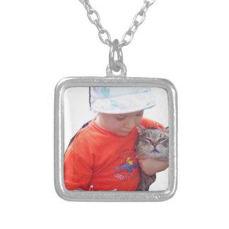 alex silverpläterat halsband