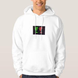 Alexander den underbara collagen hoodie