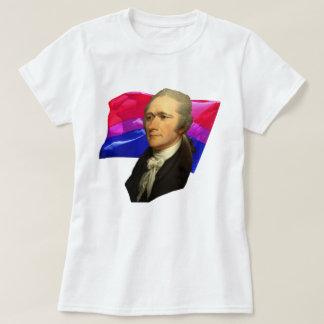 Alexander Hamilton + Bisexuell pride T Shirt